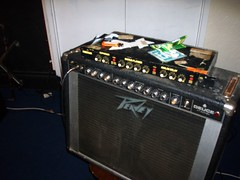 guitar(0.0), drums(0.0), drum(0.0), guitar amplifier(1.0), electronic instrument(1.0),