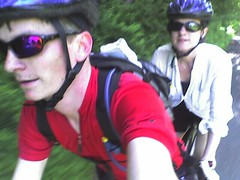 Biking on the tandem