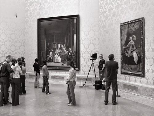 Inspired by Las meninas, Velázquez