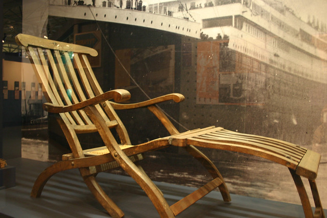 Last Deck Chair from the Titanic