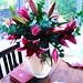 Small photo of Alice's birthday flowers, Kensal Green, London