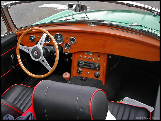 Mg 1962 1980 Mgb Custom Dash Flickr Photo Sharing