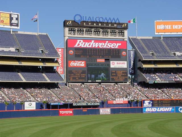 Qualcomm Stadium | Flickr - Photo Sharing! Qualcomm Stadium Baseballfootball
