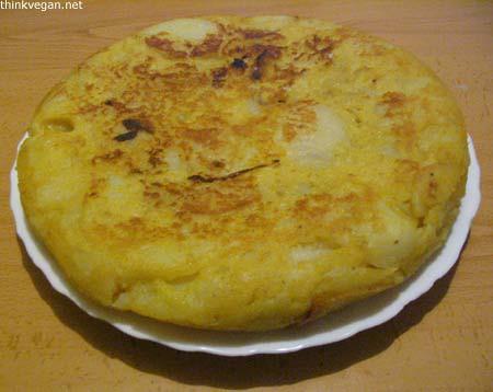 Vegan Spanish Omelette/Tortilla de patatas vegana - 無料写真検索fotoq