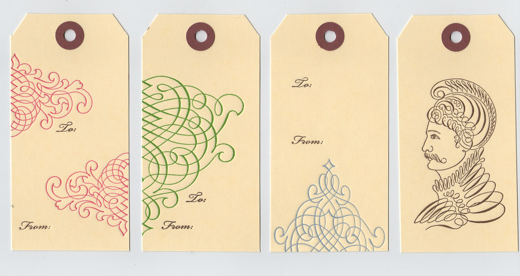 Flourish Gift Tags