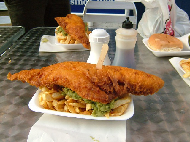 Fish 'n' Chips, Fujifilm FinePix F610