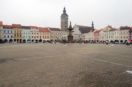 Ceske Budejovice Czech Republic  City pictures : ... Historic Center, Ceske Budejovice, Ceske Budejovice, Czech Republic