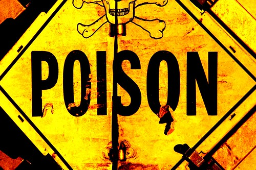 Poison sign by Murray Williams