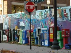 Newspaper machines