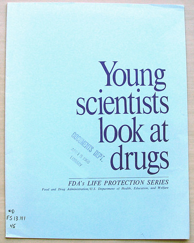 Young scientists look at drugs