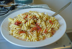 fusilli, pasta, food, dish, european food, cuisine,