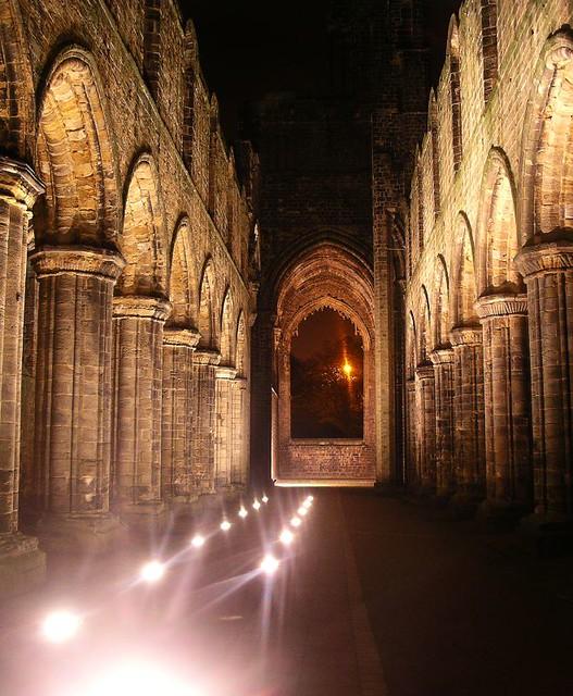 kirkstall abbey Illuminated
