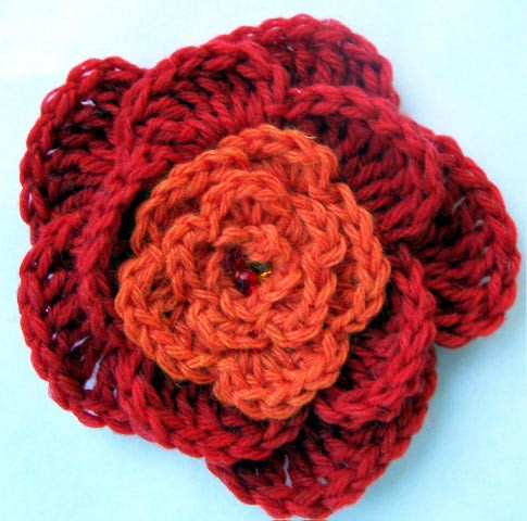 Crochet flower pattern 5 petal traitoro for 29 crochet 5 petal flower flickr photo sharing dt1010fo