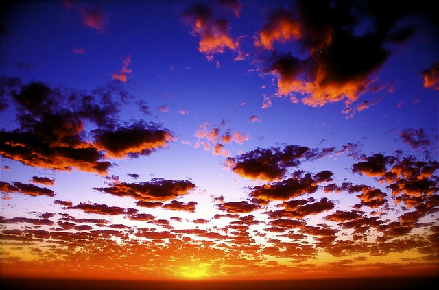 incredible sun set view - photo #21