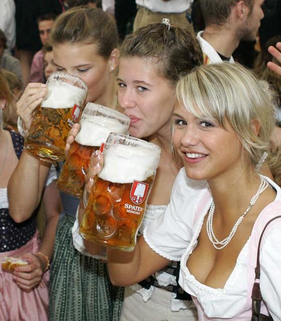 Bier Mädchen