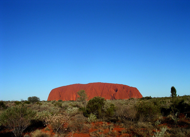 Uluru in the afternoon