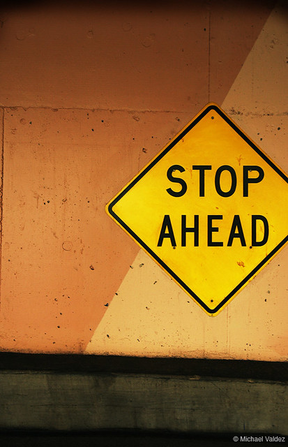 stop ahead | Flickr - Photo Sharing!