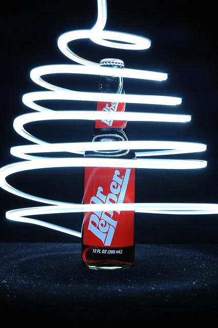 Dr Pepper Lamp : Dr pepper swirl light painting again made explore on