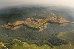 Mountaintop Removal Mine, Hoover Knob, WV