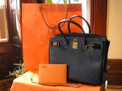 For Sale  Black Hermes Birkin 35 w  gold hardware  37fe5c499