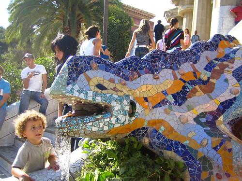 Parc Guell Lizard