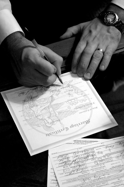 Marriage Certificate from Flickr via Wylio