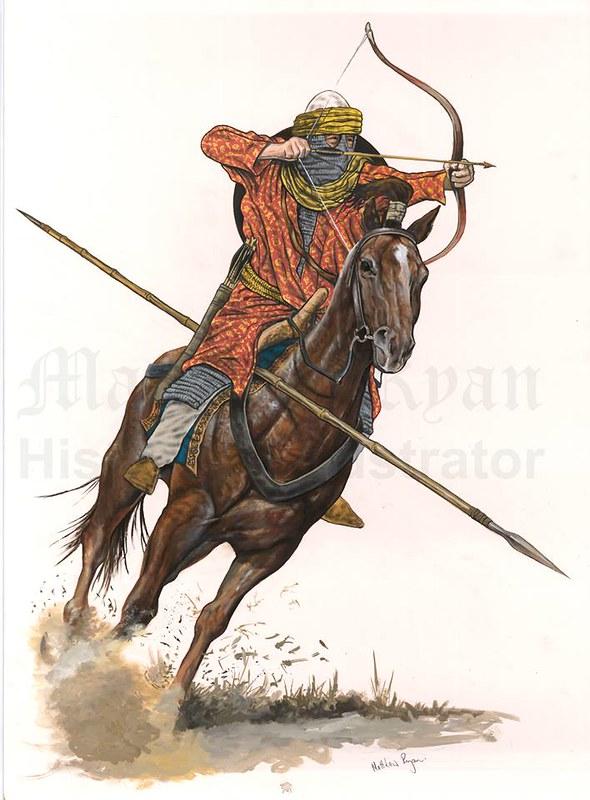 Arabic rider, VII centrury