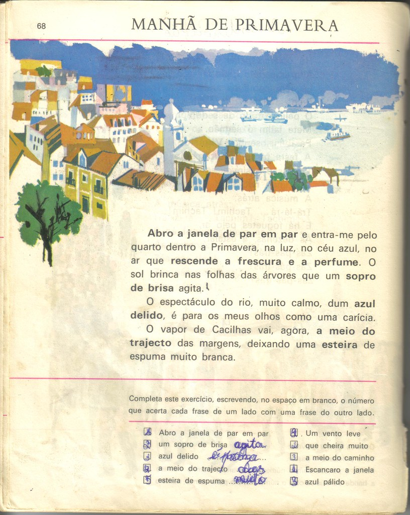 Judite Vieira, Manuel Ferreira Patrício, Silva Graça, «Manhã de Primavera», in Livro de Leitura da Segunda Classe, 1.ª ed., Atlântida, Coimbra, 1968, p. 68.