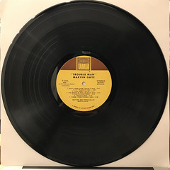 MARVIN GAYE:TROUBLE MAN(RECORD SIDE-A)