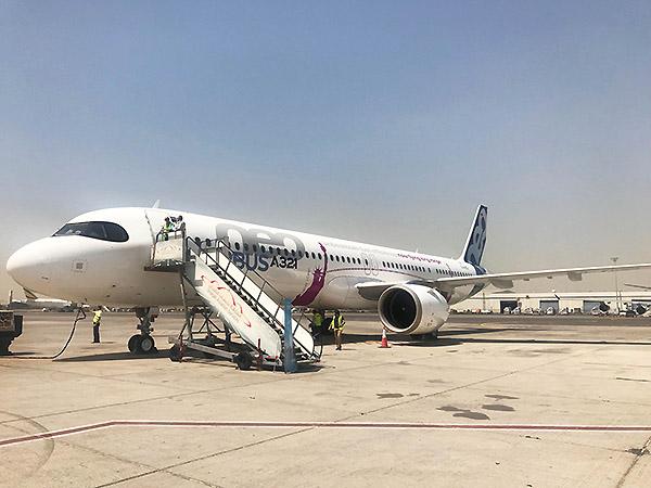 Airbus A321LR en SHJ (Airbus)