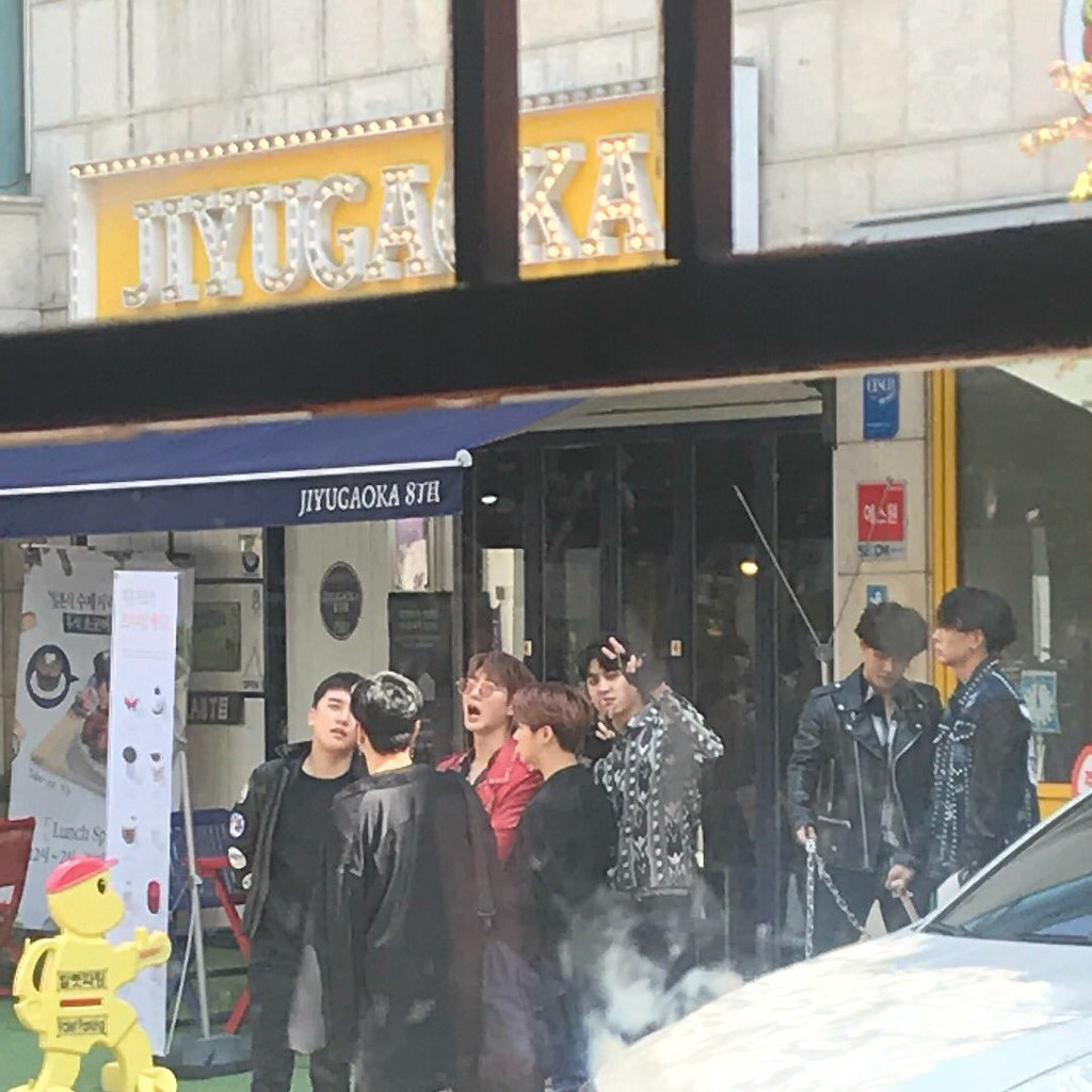 BIGBANG via pandariko - 2018-04-16  (details see below)