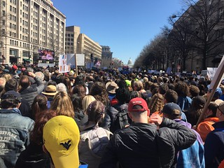 March for Our Lives: The view from a college student and a middle schooler