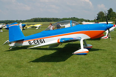 G-CEGI Vans RV-8 (81480) Popham 080608