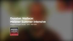 summer acting program - Dunstan Wallace  - maggie flanigan studio