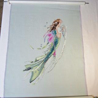 Mermaid of the Pearls, as of 4/8/18