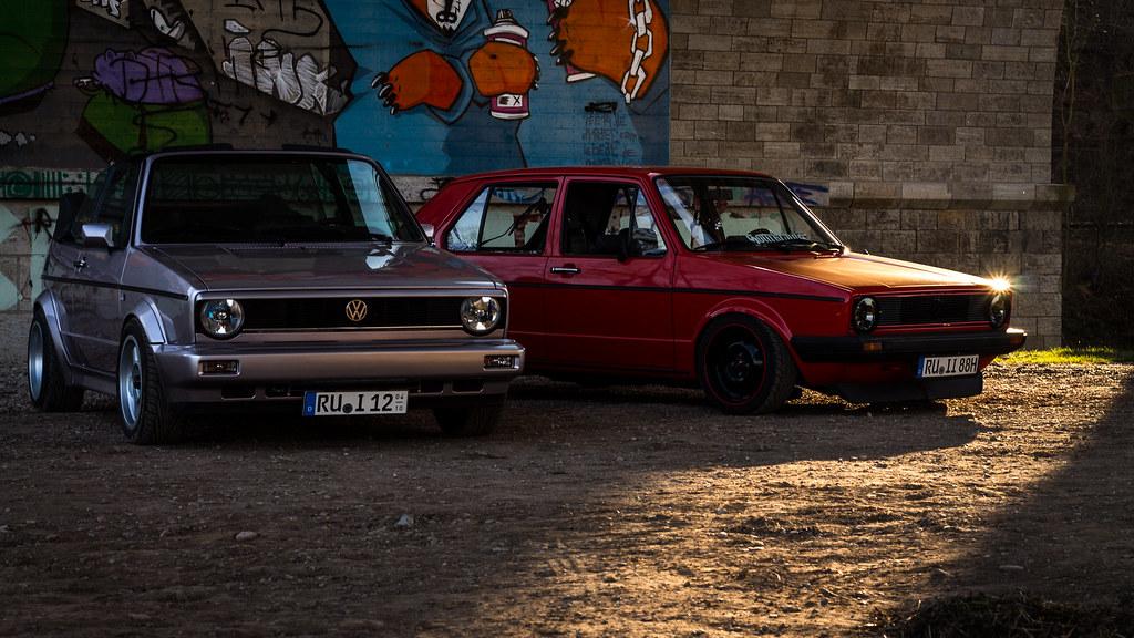 VW Golf Mk1 & Mk1 Cabrio