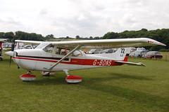 G-BONS Cessna 172N (172-68345) Popham 080810