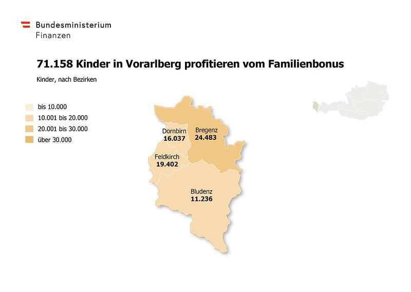 Familienbonus Vorarlberg