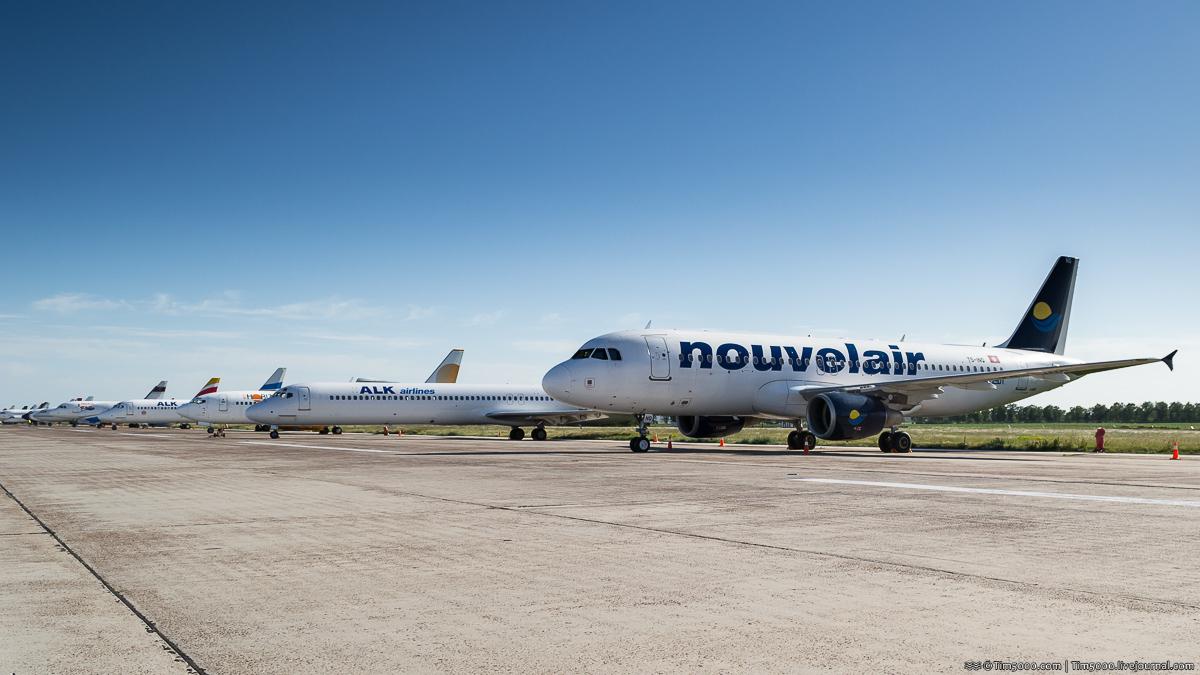 Airbus A320-200 TS-INQ Nouvelair Tunisie