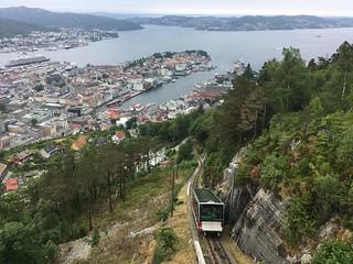 Bergen by rail
