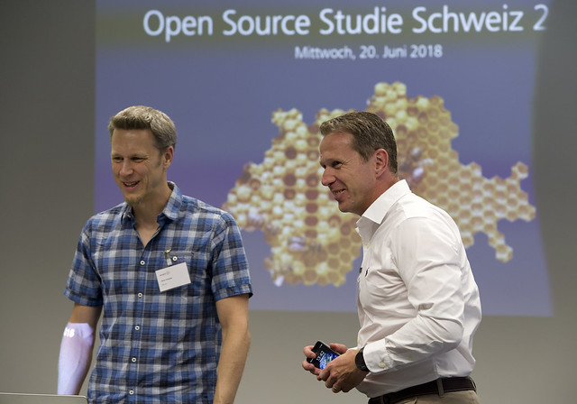 Open Source Studie Schweiz, 2018