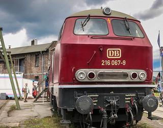 DB 216 067 | DB Museum Koblenz Lützel