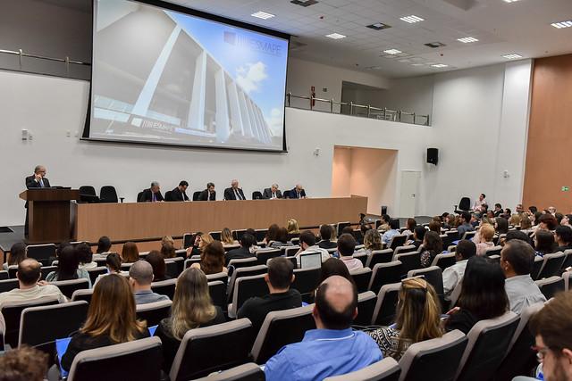 Curso de atualização do novo CPC estreou programação oficial da Esmape na nova sede