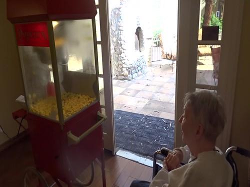 20180410 Ruth and the POPCORN MACHINE video