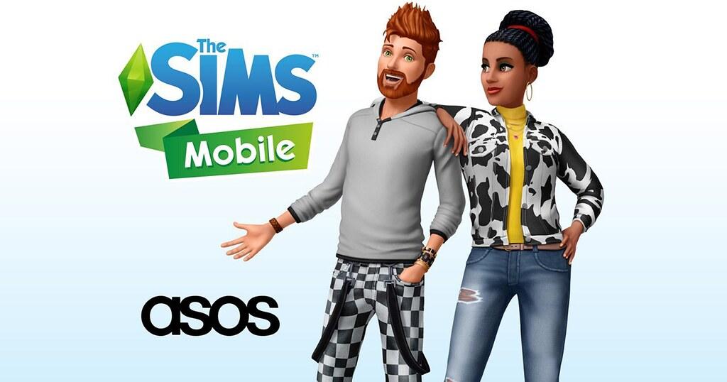 Foto de Mostre Seu Estilo com o The Sims Mobile e Asos