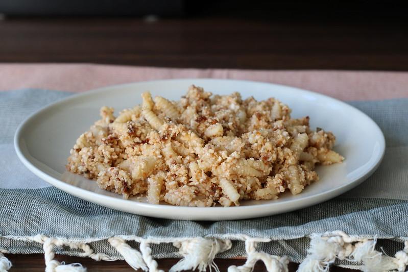 cauliflower rice + pasta