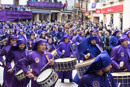 Calanda (Teruel) - Procesión del Pregón