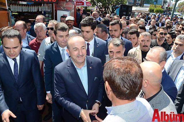 Dışişleri Bakanı Mevlüt Çavuşoğlu Alanyaspor Store Mağazası'nın açılışına katıldı -3