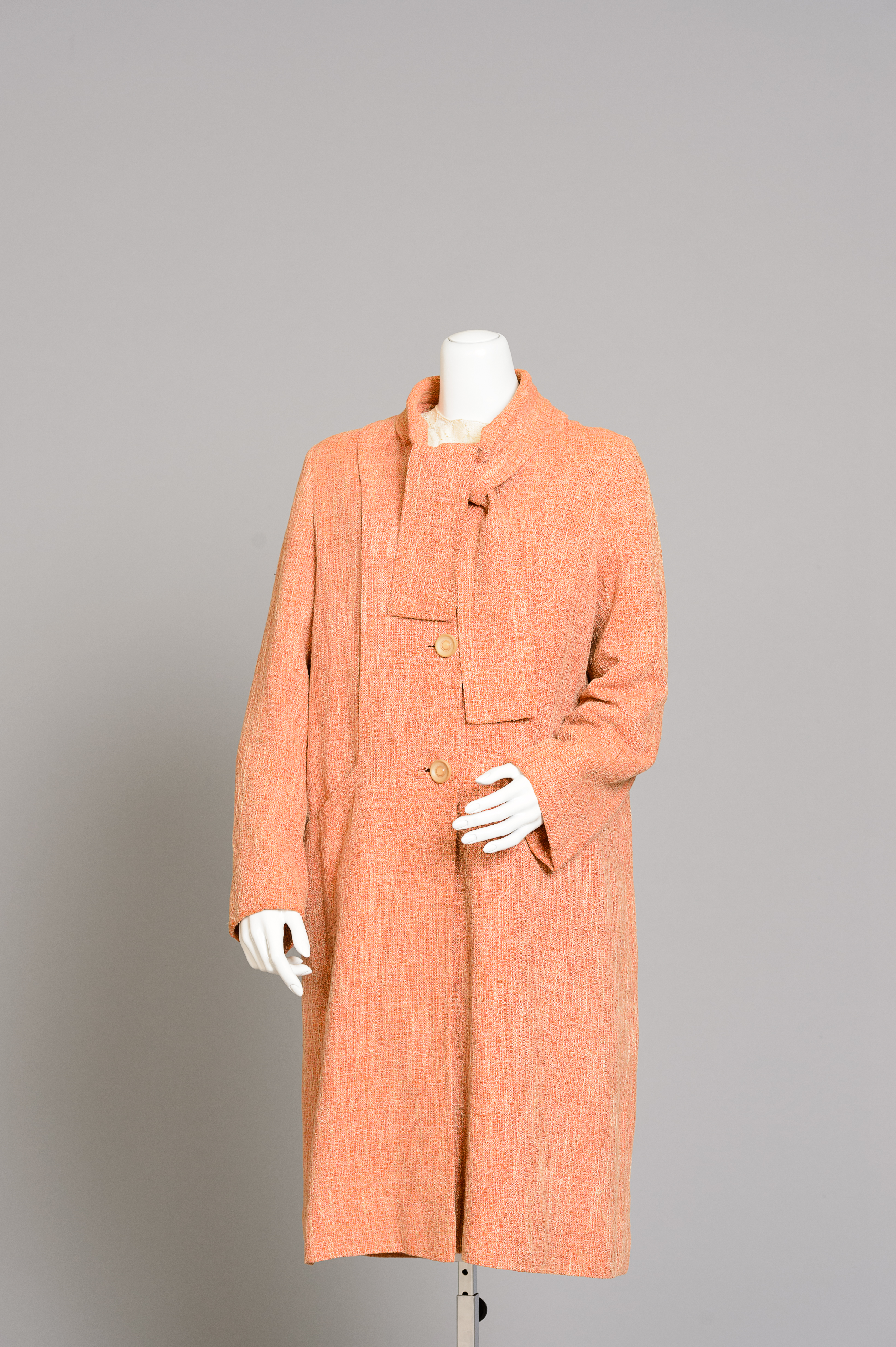 Fashion and Satire: Linen Slug Coat