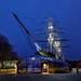The Cutty Sark at night by Nigel Blake, 17 MILLION views! Many thanks!
